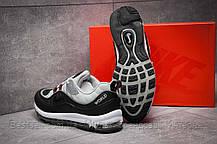 Кроссовки мужские 12673, Nike Aimax Supreme, черные, [ нет в наличии ] р. 42-26,4см., фото 2