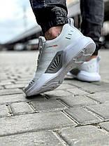 Кроссовки мужские 18563, Adidas Climacool, белые, [ 43 44 ] р. 41-26,0см., фото 3