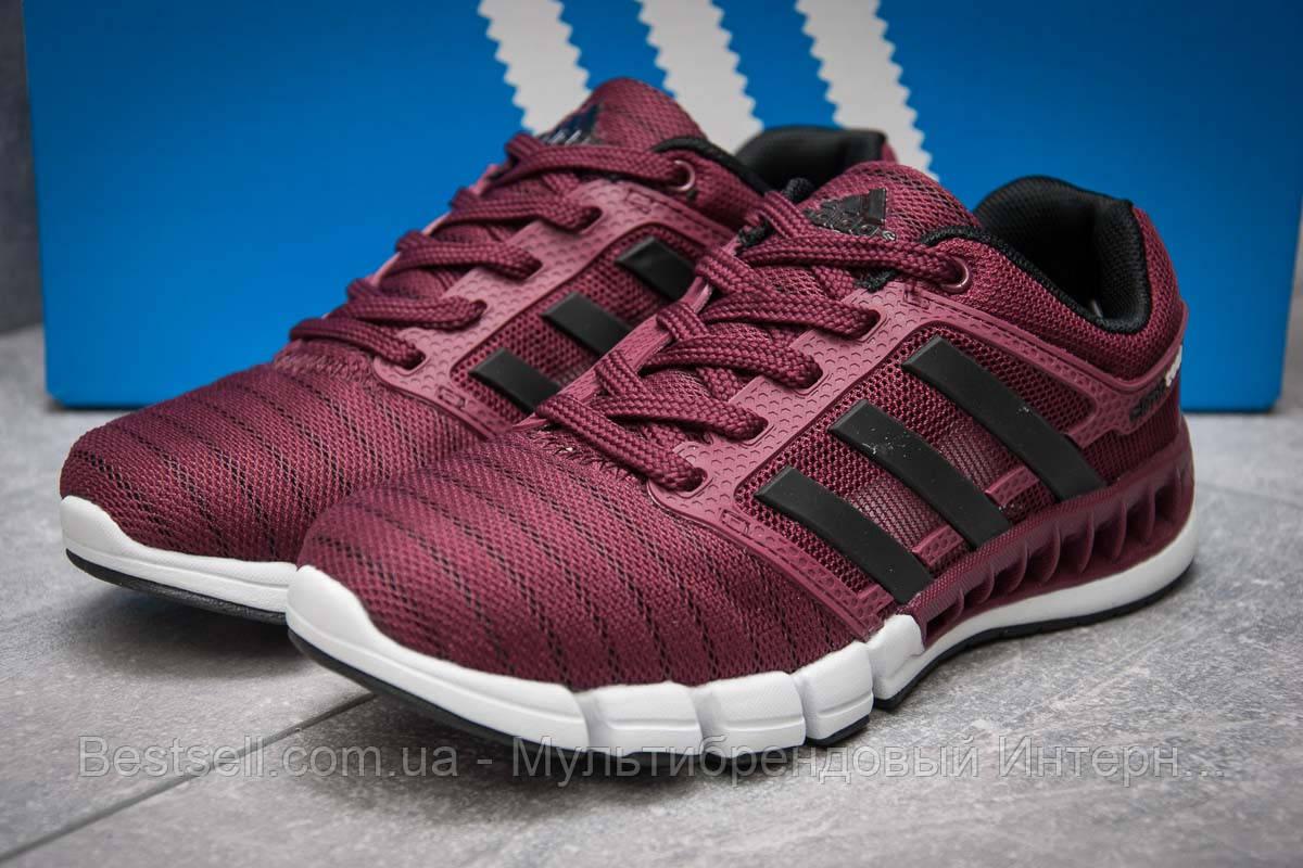 Кроссовки женские 13095, Adidas Climacool, бордовые, [ 36 ] р. 36-22,2см.
