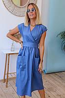Платье женское миди разных цветов до 48 размера
