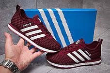 Кросівки жіночі 13414, Adidas Lite, бордові, [ 37 ] р. 37-23,1 див., фото 2