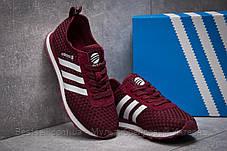 Кросівки жіночі 13414, Adidas Lite, бордові, [ 37 ] р. 37-23,1 див., фото 3