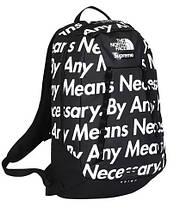 Рюкзак SUPREME & The North Face суприм школьный портфель черный