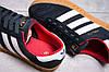 Кроссовки женские 13852, Adidas Hamburg, темно-синие, [ нет в наличии ] р. 37-23,2см., фото 2