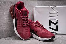 Кроссовки мужские 13972, Nike Air 270, бордовые, [ нет в наличии ] р. 43-27,5см., фото 3