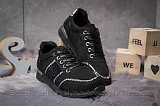 Кроссовки женские 14281, Ideal Black, черные, [ 36 38 ] р. 36-22,8см., фото 3