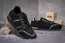 Кросівки жіночі 14281, Ideal Black, чорні, [ 36 38 ] р. 36-22,8 див., фото 3