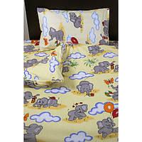 Детское постельное белье для младенцев Lotus ранфорс - FiLi желтый