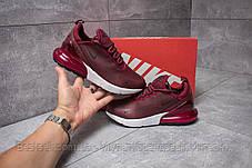 Кросівки жіночі 14453, Nike Air 270, бордові, [ немає ] р. 37-23,4 див., фото 2
