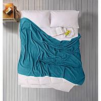 Простынь Iris Home махровая - Harbor blue 190*220