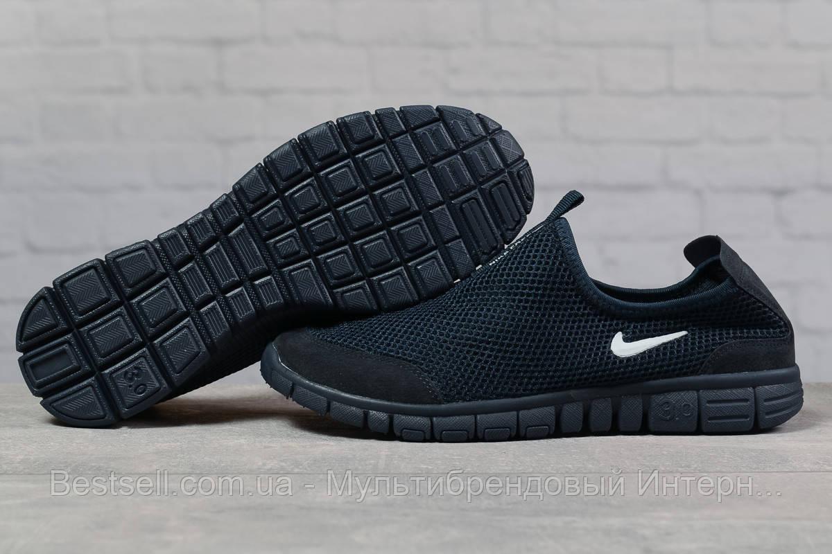 Кроссовки мужские 17493, Nike Free 3.0, темно-синие, [ 43 ] р. 42-27,0см.