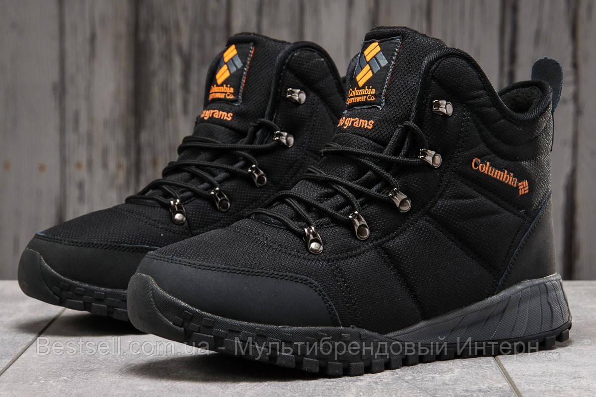 Зимові чоловічі кросівки 31231, Columbia Waterproof, чорні, [ немає ] р. 42-27,5 див.