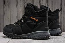 Зимові чоловічі кросівки 31231, Columbia Waterproof, чорні, [ немає ] р. 42-27,5 див., фото 2