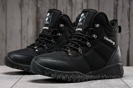 Зимові чоловічі кросівки 31233, Columbia Waterproof, чорні, [ немає ] р. 43-28,0 див., фото 2