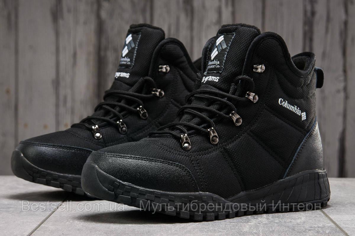 Зимові чоловічі кросівки 31233, Columbia Waterproof, чорні, [ немає ] р. 43-28,0 див.