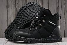Зимові чоловічі кросівки 31233, Columbia Waterproof, чорні, [ немає ] р. 43-28,0 див., фото 3