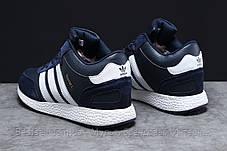 Зимові чоловічі кросівки 31281, Adidas Iniki, темно-сині, [ немає ] р. 44-28,0 див., фото 3