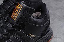 Зимние мужские кроссовки 31284, Adidas Iniki, черные, [ нет в наличии ] р. 44-28,0см., фото 3