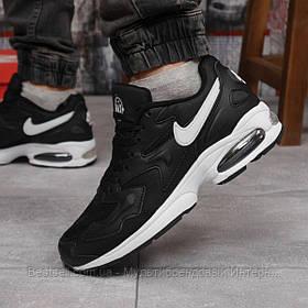 Кросівки чоловічі 15233, Nike Air Max, чорні, [ 44 ] р. 44-27,7 див.
