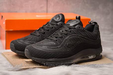 Кроссовки мужские 15261, Nike Air Max, черные, [ 44 ] р. 44-28,1см., фото 2