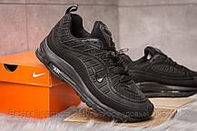 Кроссовки мужские 15261, Nike Air Max, черные, [ 44 ] р. 44-28,1см., фото 3