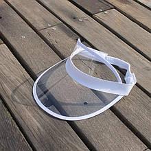 Жіночий пластиковий прозорий Прозорий козирок
