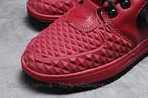 Зимние женские кроссовки 31462, Nike Air AF1 (мех), розовые, [ нет в наличии ] р. 40-25,5см., фото 2