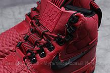 Зимние женские кроссовки 31462, Nike Air AF1 (мех), розовые, [ нет в наличии ] р. 40-25,5см., фото 3