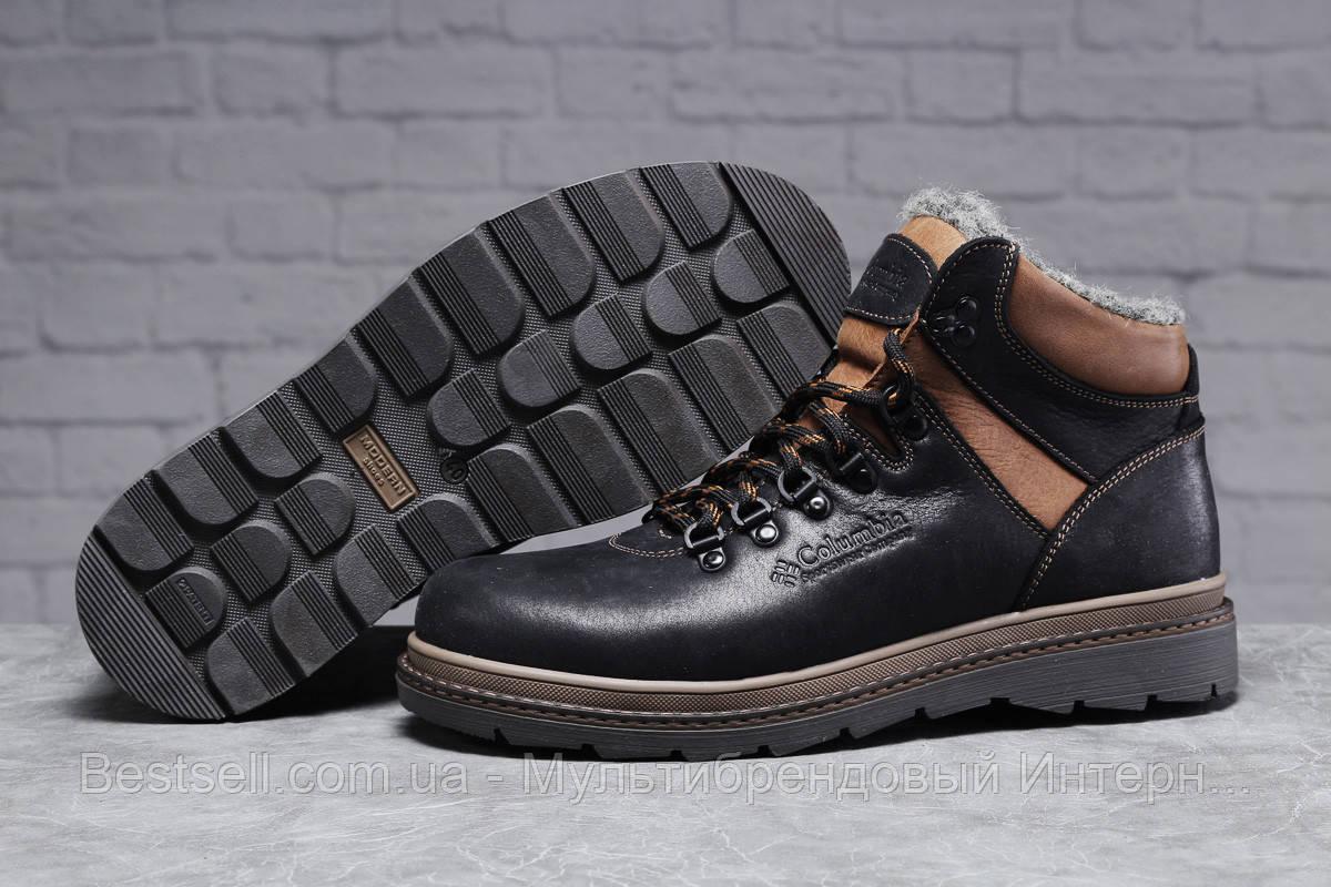 Зимові чоловічі черевики 31502, Columbia Sportwear (хутро), чорні, [ 44 ] р. 42-28,0 див.