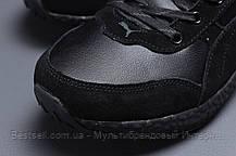 Зимние мужские кроссовки 31531, Puma (мех), черные, [ нет в наличии ] р. 41-26,0см., фото 2