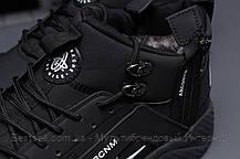 Зимние мужские кроссовки 31542, Nike Arcnm (мех), черные, [ нет в наличии ] р. 44-28,3см., фото 3