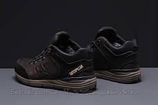 Зимние мужские кроссовки 31571, CAT Caterpilar Expensive (мех), коричневые, [ нет в наличии ] р. 41-26,5см., фото 3