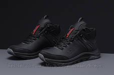 Зимние мужские кроссовки 31582, Ecco Biom (мех), черные, [ нет в наличии ] р. 40-26,5см., фото 2