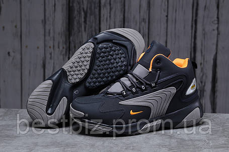 Зимние мужские кроссовки 31642, Nike Zm Air, темно-синие, [ нет в наличии ] р. 42-26,5см., фото 2