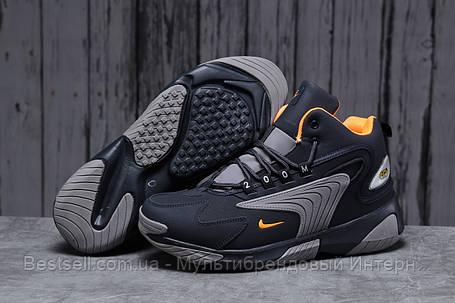 Зимові чоловічі кросівки 31642, Nike Zm Air, темно-сині, [ немає ] р. 42-26,5 див., фото 2