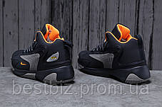 Зимові чоловічі кросівки 31642, Nike Zm Air, темно-сині, [ немає ] р. 42-26,5 див., фото 3