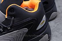 Зимние мужские кроссовки 31642, Nike Zm Air, темно-синие, [ нет в наличии ] р. 42-26,5см., фото 3