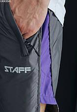 Пляжные шорты Staff gray & purple серый/фиолетовый UKK0045 M, 48, фото 2
