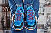 Кросівки жіночі 15366, Balenciaga Triple S, темно-сині, [ 36 ] р. 36-22,2 див., фото 2