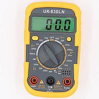 Мультиметр карманный универсальный Digital UK-830LN, подсветка, защитный корпус