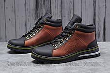 Зимові чоловічі черевики 31681, levi's (хутро), коричневі, [ немає ] р. 43-28,6 див., фото 2