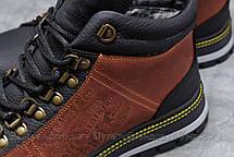 Зимние мужские ботинки 31681, Levi's (мех), коричневые, [ нет в наличии ] р. 43-28,6см., фото 3