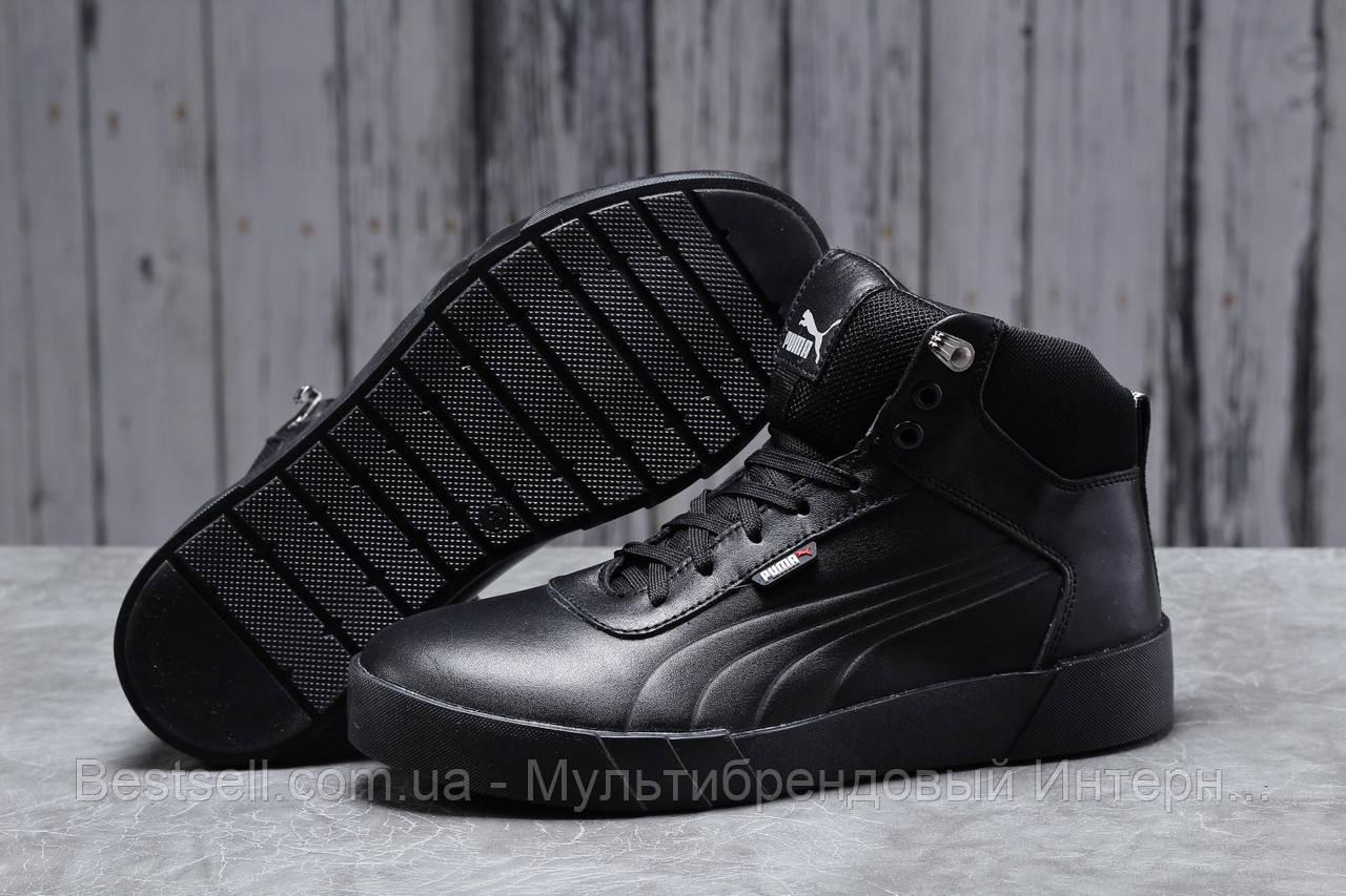 Зимові чоловічі кросівки 31691, Puma Desierto Sneaker, чорні, [ немає ] р. 43-28,0 див.