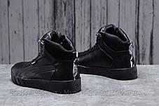 Зимові чоловічі кросівки 31691, Puma Desierto Sneaker, чорні, [ немає ] р. 43-28,0 див., фото 3
