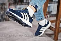 Кросівки жіночі 15431, Adidas Iniki, темно-сині, [ 36 ] р. 36-22,5 див., фото 3