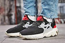 Кроссовки женские 15443, Nike React, черные, [ 37 38 39 40 ] р. 37-23,0см., фото 2
