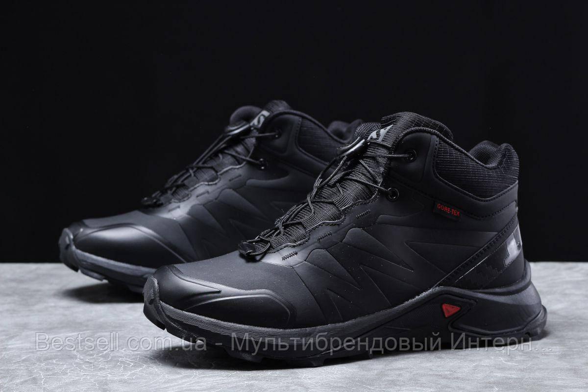 Зимние мужские кроссовки 31761, Solomon SuperCross, черные, [ нет в наличии ] р. 42-27,0см.