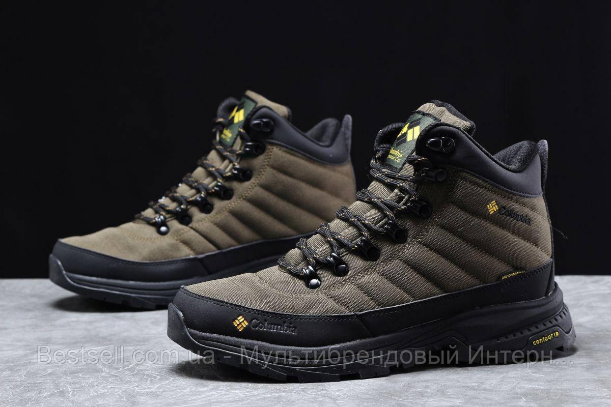 Зимові чоловічі кросівки 31773, Columbia Contagrip, зелені, [ немає ] р. 41-26,5 див.