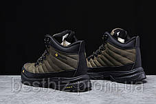Зимові чоловічі кросівки 31773, Columbia Contagrip, зелені, [ немає ] р. 41-26,5 див., фото 3
