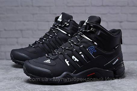 Зимние мужские кроссовки 31783, Adidas Terrex Gore Tex, черные, [ нет в наличии ] р. 41-26,5см., фото 2